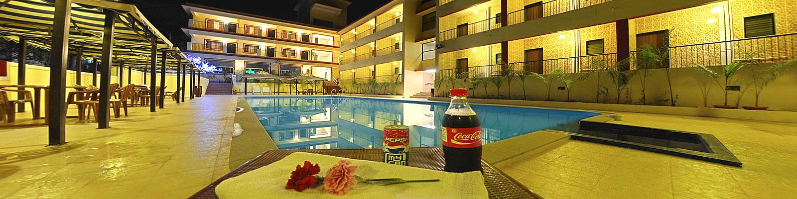 Hotel Resort In North Goa Swimming Pool Pub Bar